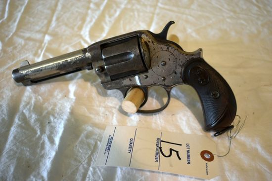 Colt Frontier 6 Shooter Revolver, 40-44 Cal.