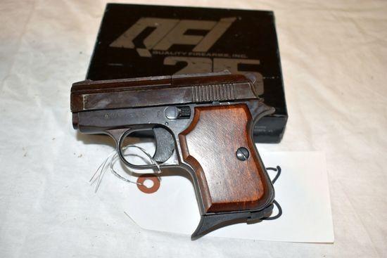 QFI SA25 Semi Automatic Pistol, In Box