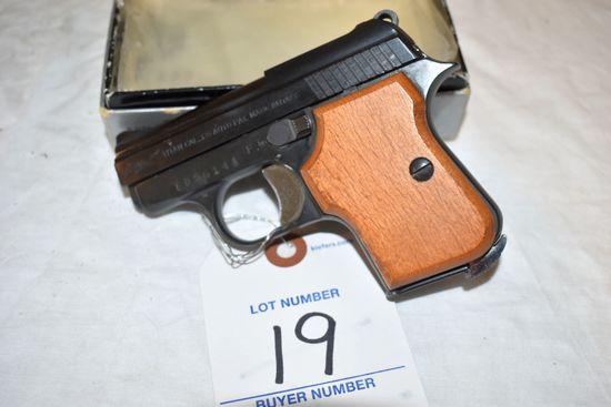 Titan 25 Cal. Model E27, Semi Automatic Pistol With Box, SN:ED56141
