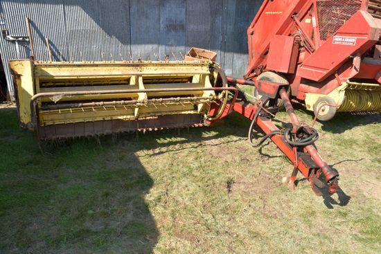 New Holland 477 Hay Bine, Rubber Rolls, 7' Cut, 540PTO