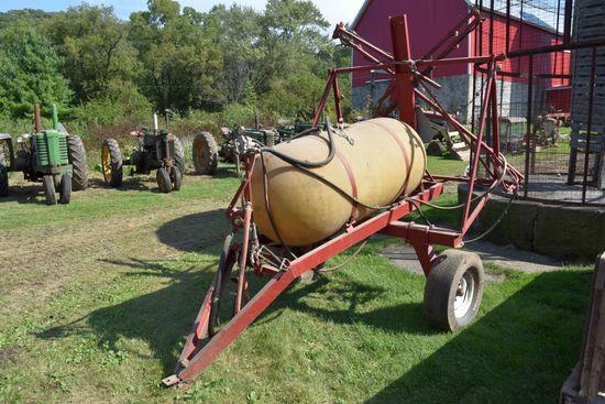 Dakon 100 Gallon Pull Type Crop Sprayer, 32' Booms, PTO Pump