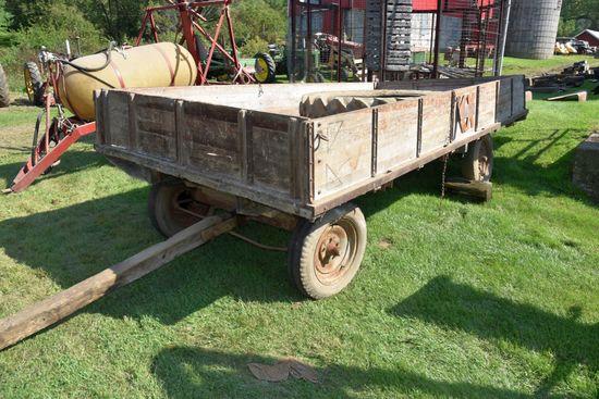 7'x14' Kingscrost Flatbed Wagon On Running Gear