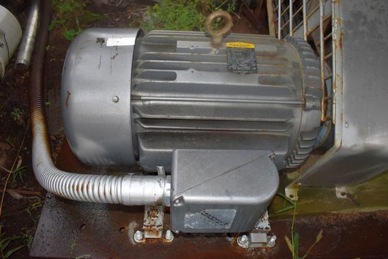 50hp Baldor 3-Phase Electric Motor