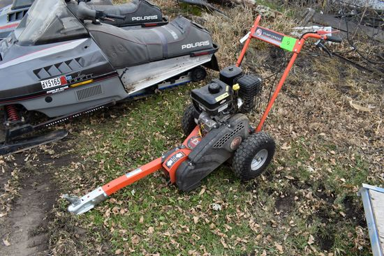 DR Stump Grinder, Briggs And Stratton XR1650 Gas Motor, Electric Start