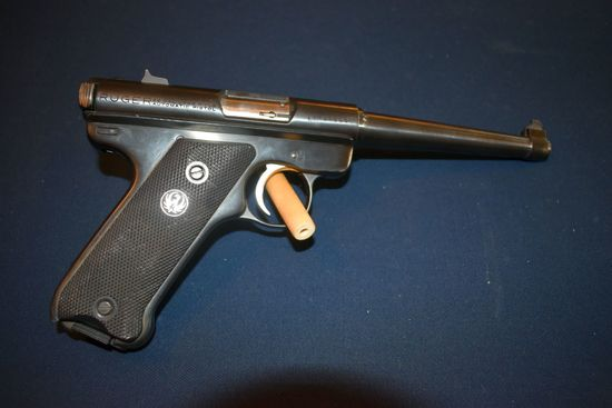 Ruger 22 Cal., Semi Automatic Pistol, With Magazine, SN:17-67242