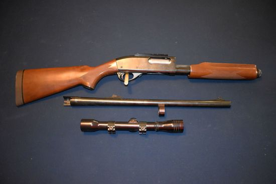 Remington Model 870 Magnum, Wingmaster Deer, 12 Gauge, 2 3/4'' Or 3'', Wooden Checkered Stock, Pump