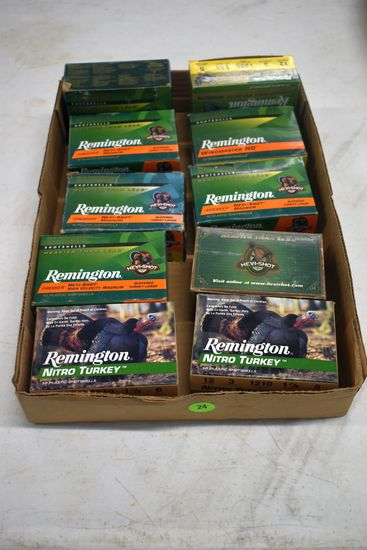 Remington Premier HeviShot And Wingmaster HD  Turkey Load, 12 Gauge, Approximatley 80 Rounds