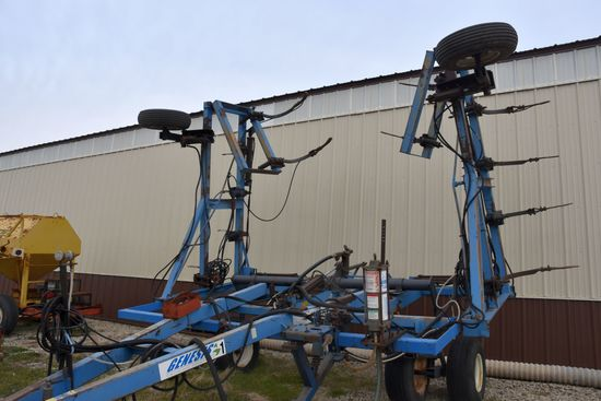 DMI Nutri-Placr 4200 Anhydrous Tool Bar, 42', 17 Knife, Broken/Welded Frame, For Parts Only