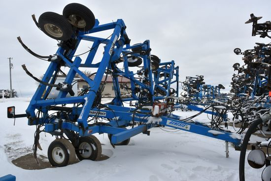 DMI Nutri-Placr 5250 Anhydrous Tool Bar, 47', 19 Shank, Contrinental NH3 Cooler With Raven Monitor,