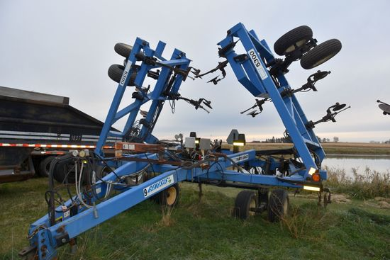 DMI Nutri-Placr 5300 Anhydrous Tool Bar, 42', 17 Knife, Raven NH3 Cooler With Raven 440 Monitor, Wal