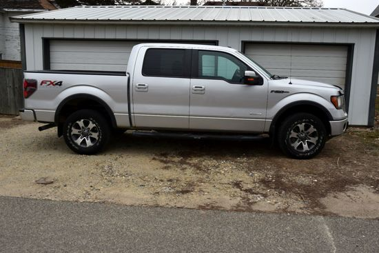 2012 Ford F150 Pickup, FX4 Package, 140,148 Miles, Eco-Boost V6 Engine, Super Crew 4 Door, 4x4, Sun