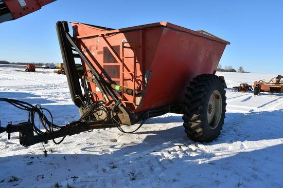 Byron Dump Chief Model 1512 Cart, Hydraulic Drive