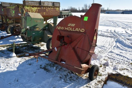 New Holland 28 Silage Blower, 540PTO, SN: 462112