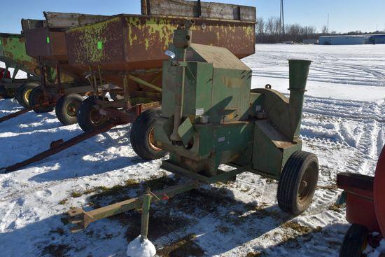 Badger 152X4 Roller Mill, 540PTO, SN:1543