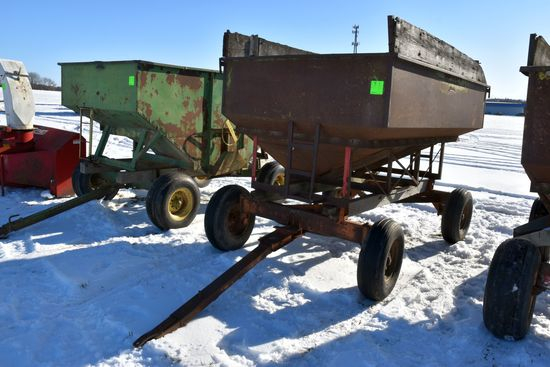 Gravity Flow Wagon With 9 Ton Running Gear