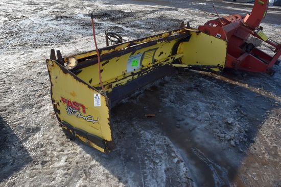 Snow Wolf 8' Snowblade With Removable Box Attachm