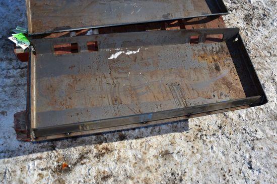 New Unused Closed Quick Attach Plate