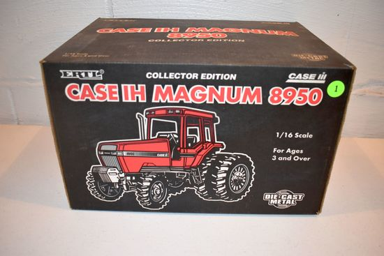 Ertl Case IH Magnum 8950 Tractor, Collector Edition, 1/16th Scale With Box