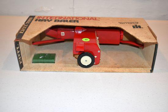 Ertl International Hay Baler, Stock #447, With Box