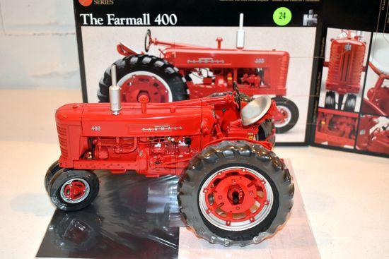 Ertl Precision Series No.13 Farmall 400, 1/16th Scale With Box