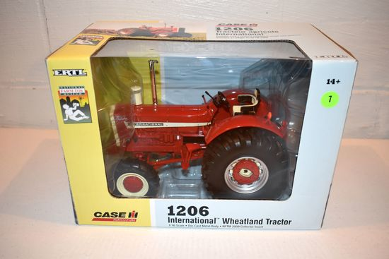 Ertl National Farm Toy Museum 2009 Collector Edition International 1206 Wheatland Tractor, 1/16th Sc