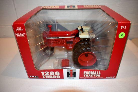 Ertl Britain's 40th Anniversary Edition Farmall 1206 NF Tractor, 1/16th Scale With Box