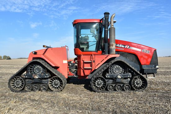 2010 Case IH Steiger 535 QT, 3,216 Hours, 4hyd, Case Drain, Pro-600 Display, Deluxe Cab, SN: Z9F1170