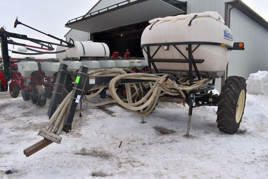 2013 Montag Model S16A611 Pull Behind Planter Applicator 420/85R34, Hyd Drive, Light Kit, SN:20384 (