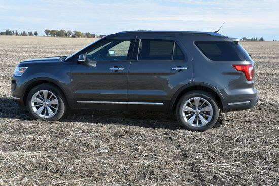 2019 Ford Explorer Limited, 4x4, Navigation, Leather, 4 Door, 3.5 Liter, Auto Loaded, 11,331 Miles,