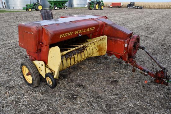 New Holland 270 Square Baler, 540PTO, Straight Chute
