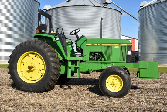 1993 John Deere 6400 2WD, Open Station, Power Quad, 1,478 Actual Hours, 18.4x34, 3pt, 2hyd, 540/1000