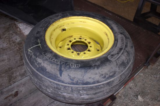 Co-Op 11L-15SL Implement Tire On JD 6 Bolt Rim