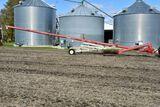 "Buhler Farm King 1060 Grain Auger, 10"" x 60' Swing Hopper, Hydraulic Lift, 540PTO"
