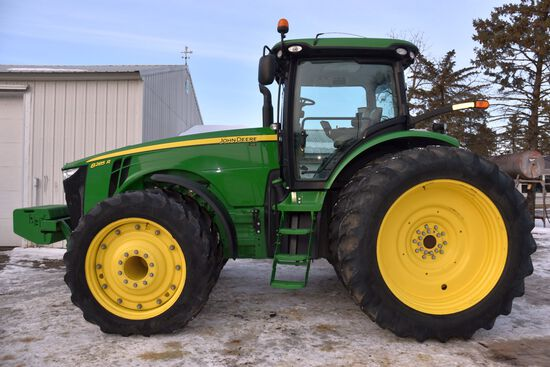 2011 John Deere 8285R MFWD, 1,799 Actual One Owner Hours, 480/80R/50, ILS, Rear Wheel Weights, GS 3