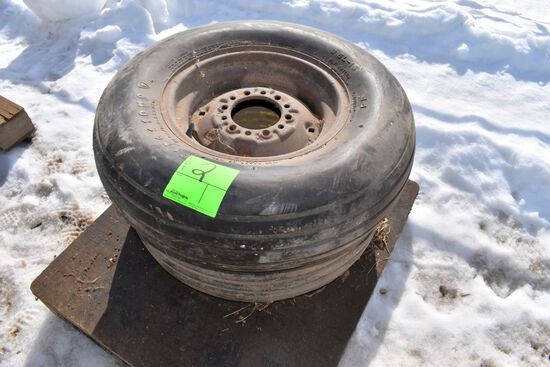 2 Implement Tires With Rims