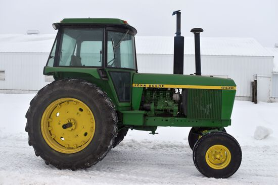 John Deere 4430, 2WD, Power Shift, 9,615 Hours, 18.4-38, 2hyd, 3pt, 540/1000 PTO, Rear End & Transmi