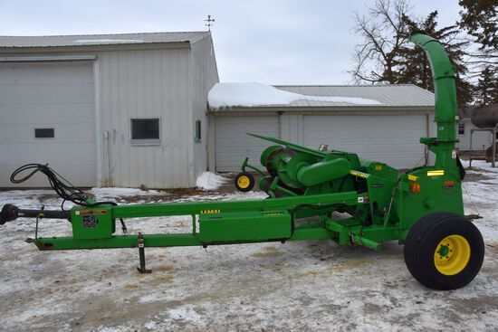 2010 John Deere 3975 Forage Harvester Horning Crop Processor, Intelligaurd, Hydraulic Spout, Hydraul