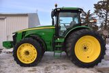 2011 John Deere 8285R MFWD, 1,808 Actual One Owner Hours, 480/80R/50 Rear Duals, 380/80R38 Front Dua