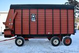 Meyers 500 TSS 16' Forage Box, Unload Extension With Meyers 1200 Series Tandem 12 Ton Running Gear,