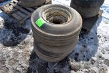 3 Implement Tires With Rims