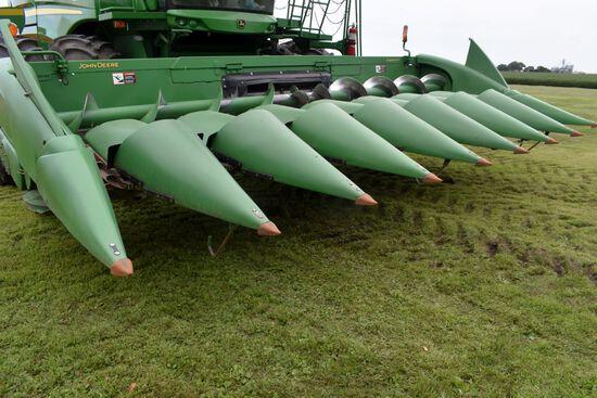 "2010 John Deere 608C Stalk Master Corn Head, Chopping Head, 8 Row 30"", Dual PTO, Row Sense, Hydrauli"