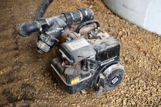 B&S 5hp Transfer Pump, Turns Over