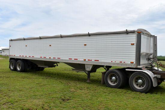 """2006 Timpte Hopper Bottom Grain Trailer, 40'x66""""x96"""", Spring Ride, 24.5 Tires, Full Aluminum Rims, R"""