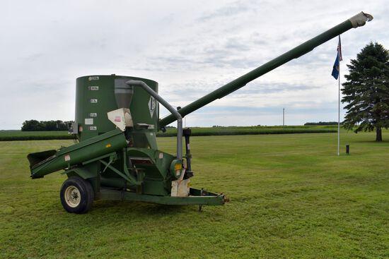 Lorenz 120 Mixer Mill, Hydraulic Orbit Motor Drive, 540PTO, 2 Scales, 19' Long Auger, Weigh-Tronix M