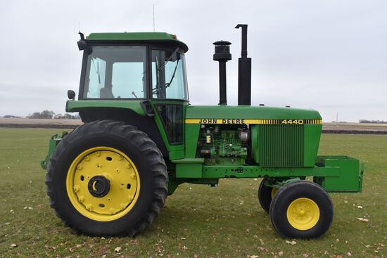 1979 John Deere 4440, Quad Range, 6,633 Actual One Owner Hours, 18.4-38 With Axle Duals, 2 Hydraulic