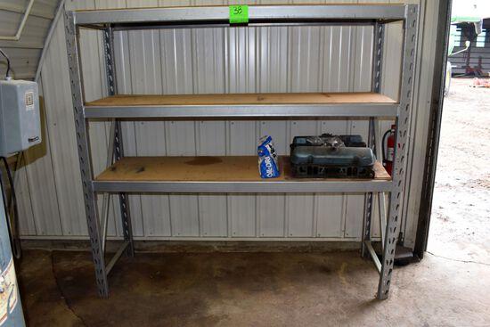 """Medium Duty 3 Shelf Pallet Racking, 72"""" Wide, 24"""" Deep, 72"""" Tall"""