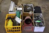 Bunge Cords, Tap, Mouse Traps, Assortment Of Electrical Items