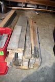Assortment Of Lumber, Blocks & Sheeting