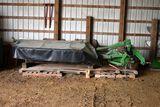 John Deere 265 Disc Bine Rotory Mower, 7' Cut, 3pt, 6 Turtles, 540PTO, Excellent Condition, SN: X310