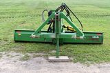 John Deere 155 3pt Rear Blade, 10', Hydraulic Tilt & Angle, SN: X010540